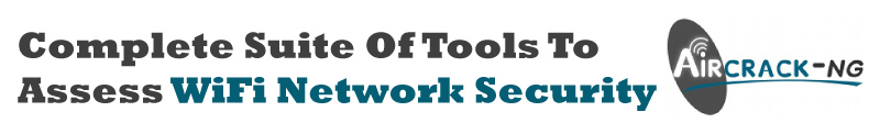WEP and WPA Cracking tool [Aircrack-ng]
