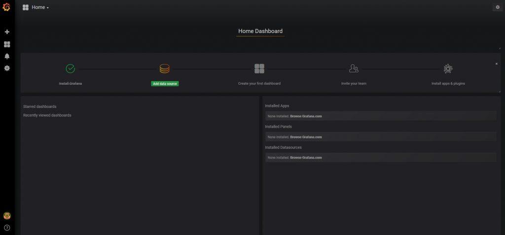 System monitoring with grafana DataSource