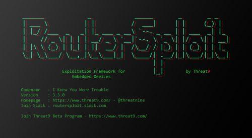 Router Exploitation Framework – RouterSploit