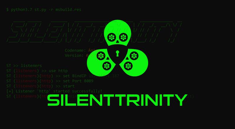 Post-exploitation Agent – SILENTTRINITY [Python, IronPython, C#/.NET]