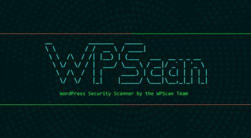 Black Box WordPress Vulnerability Scanner – WPScan