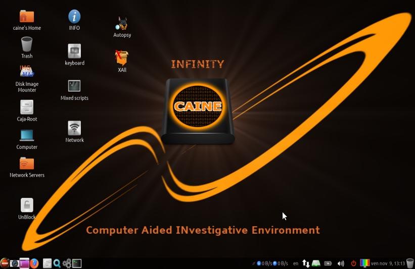 CAINE Infinity 10.0
