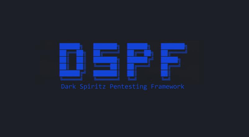 Penetration Testing Framework – DarkSpiritz