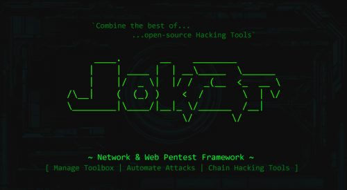 Network and Web Pentest Framework – Jok3r