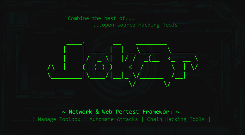 Network and Web Pentest Framework – Jok3r