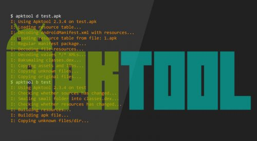 Apktool – Tool For Reverse Engineering Android apk Files