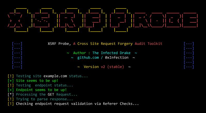 XSRFProbe: Prime CSRF Audit and Exploitation Toolkit