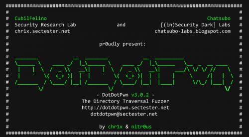 DotDotPwn: The Directory Traversal Fuzzer