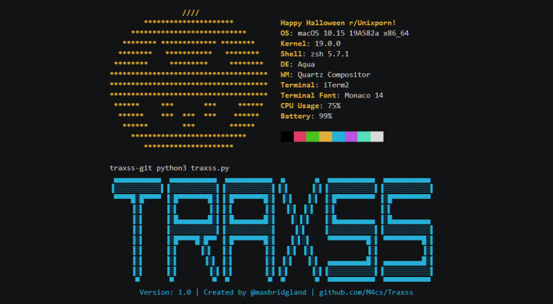 Traxss: Automated XSS Vulnerability Scanner