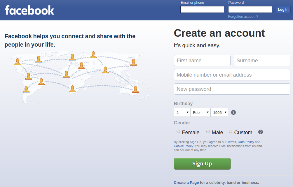 SocialFish v3 Facebook Phishing - Correct rendering