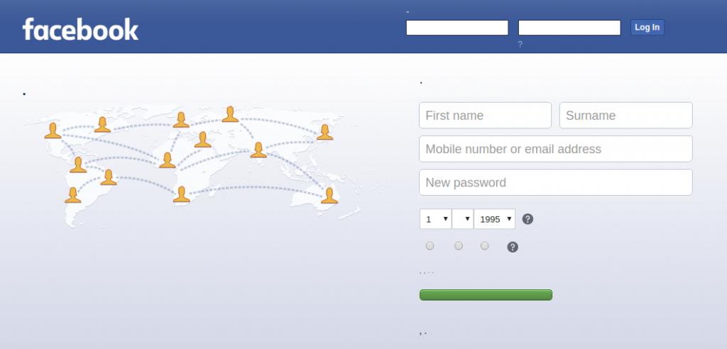 SocialFish v3 Facebook Phishing - Bad rendering