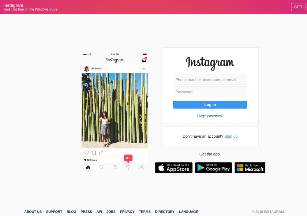 SocialFish v3 Instagram Phishing - Old layout