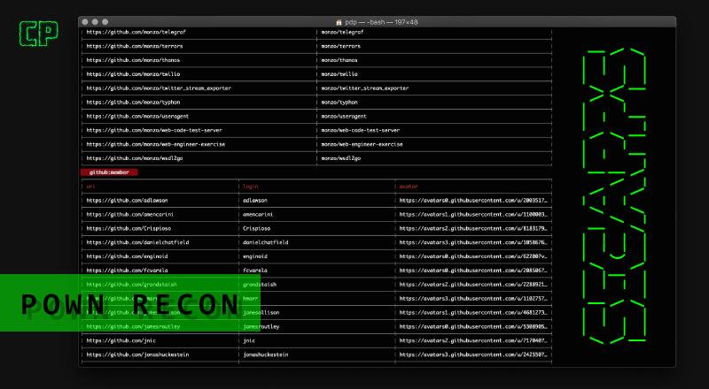 Pown Recon: Powerful Target Reconnaissance Framework