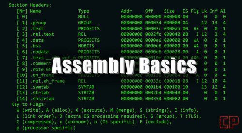 Assembly Basics [32-bit, Linux, GDB]