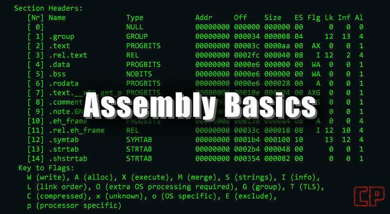 Assembly Basics [32-bit, Linux, GDB]