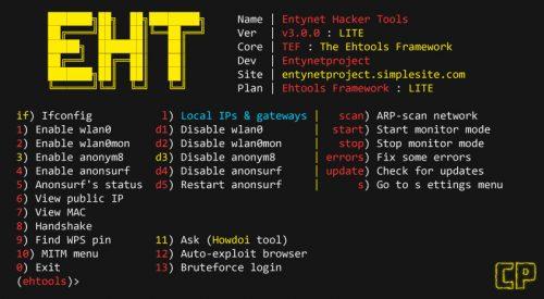 Ehtools: Entynet Hacker Tools [Ehtools Framework]