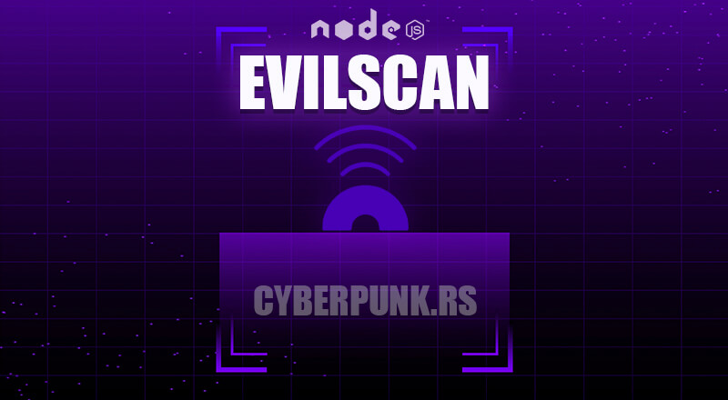 evilscan: NodeJS Simple Network Scanner