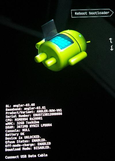Bootloop Issue: Flash Nexus 6P