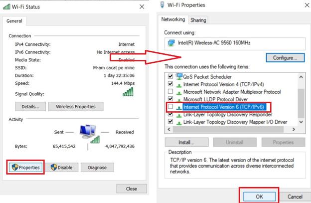 Windows 10 & VPN Leaks: Internet Protocol Version 6 (TCP/IPv6)