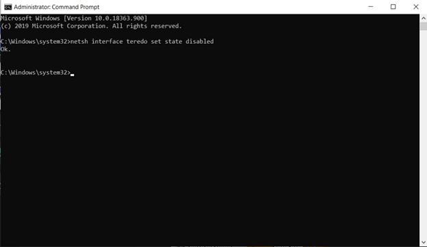 Windows 10 & VPN Leaks: Successfully disabled Teredo