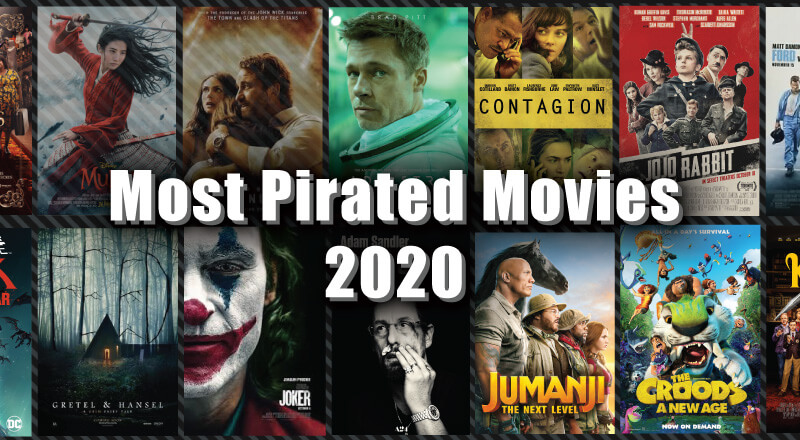 Most Pirated Movies of 2020